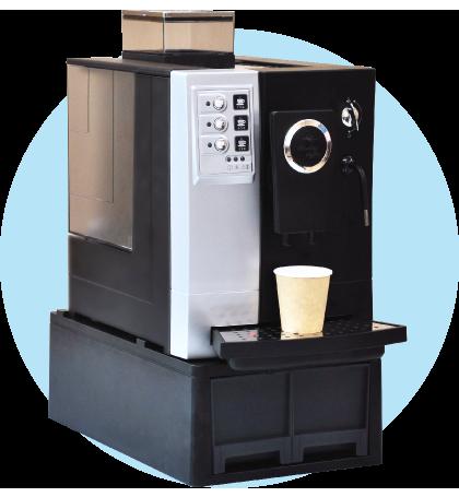 おふぃすこんびにのコーヒーマシン