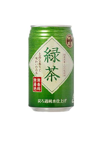 神戸茶房 緑茶 350ml