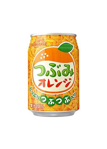 サンガリア つぶみオレンジ 280ml