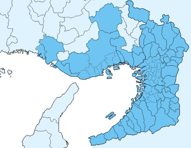 関西サービスエリア地図