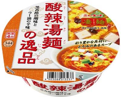 ヤマダイ ニュータッチ凄麺:酸辣湯麺の逸品