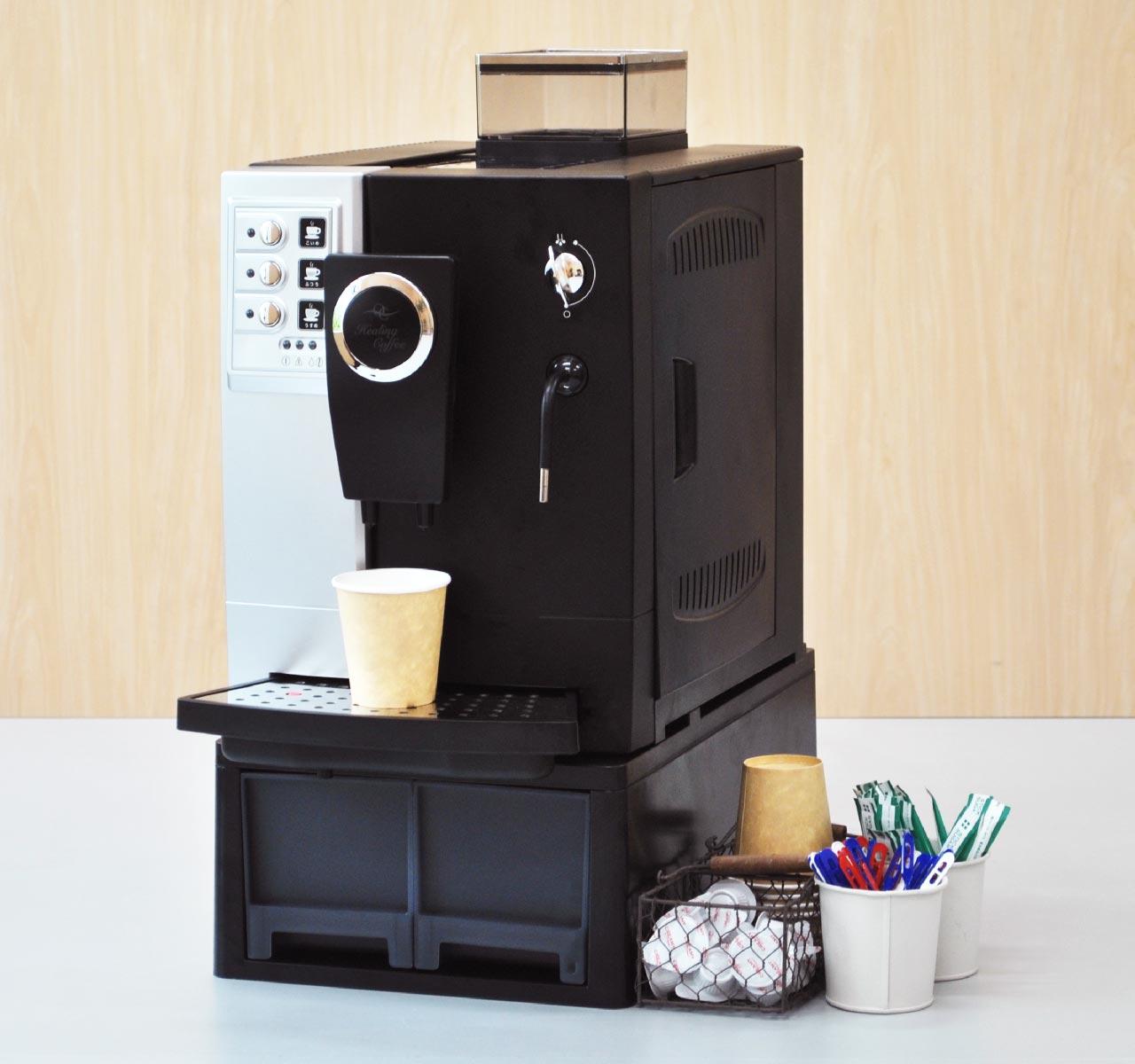おふぃすこんびにスペシャルティコーヒー:コーヒーマシンの写真