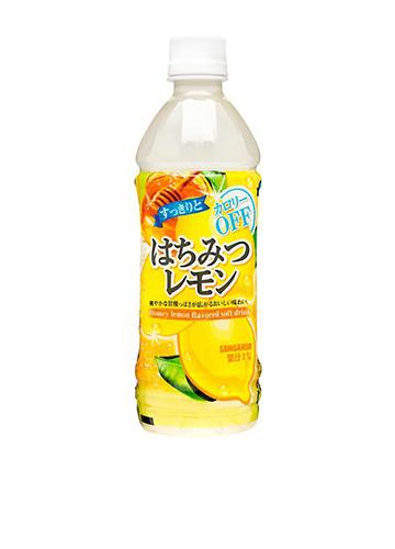 サンガリア すっきりとはちみつレモン 500ml