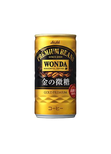 アサヒ飲料 ワンダ 金の微糖 185ml