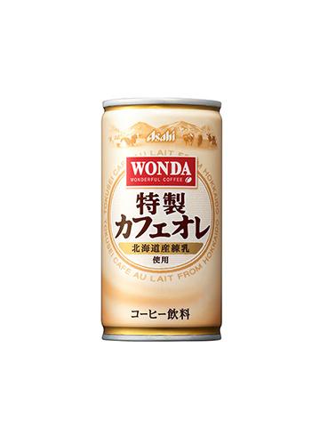 アサヒ飲料 ワンダ 特製カフェオレ 190ml