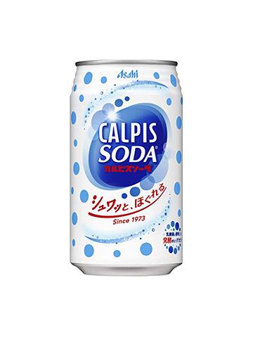 アサヒ飲料 カルピスソーダ 350ml
