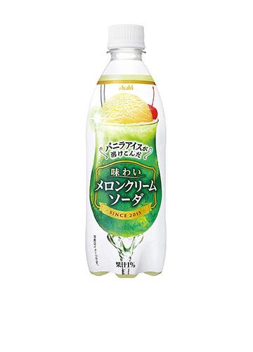 アサヒ飲料 味わいメロンクリームソーダ-500ml