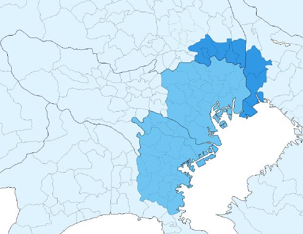関東サービスエリア地図