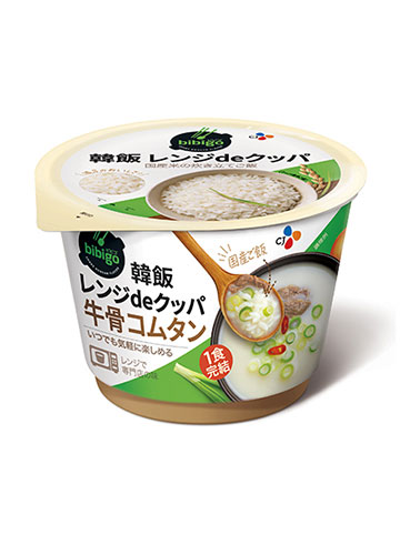 CJ Foods Japan 韓飯レンジdeクッパ 牛骨コムタン
